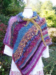 Dreamy Poncho Knitting Pattern Detailed pattern for par jenpedwards, $6.00