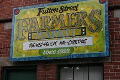 I love the Fulton Street Farmers Market
