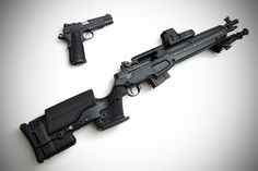 Springfield SOCOM 16 and 1911 by LBC Studios are my dream firearms. Military Weapons, Weapons Guns, Guns And Ammo, Military Jokes, Tactical Rifles, Firearms, Shotguns, M1a Socom, Battle Rifle