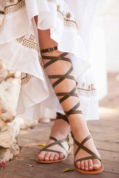 Gladiator lace up leather sandals, wedding sandals for women, strappy flat greek sandals Lace Up Gladiator Sandals, Roman Sandals, Greek Sandals, Ankle Strap Heels, Leather Sandals, Strappy Flats, Flat Sandals, Flat Shoes, Fashion Heels