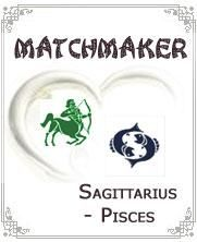 """Sagittarius Pisces If there's one word to describe the Sagittarius Pisces compatibility, it would be """"imagination"""". This is because both the Sagittarius and the Pisces always require having a dream for which they want to base their life on. Most of these dreams, however, are beyond other people's conception, so both of them would want to help each other out. Here is a closer understanding of the Sagittarius Pisces compatibility."""