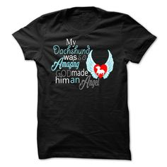 MY DACHSHUND ANGEL T-Shirts, Hoodies. Get It Now ==►…