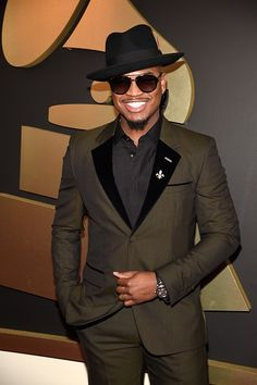 57th GRAMMYs Red Carpet (2 Of 2) - Ne-Yo - Ne-Yo arrives at the 57th Annual GRAMMY Awards on Feb. 8 in Los Angeles