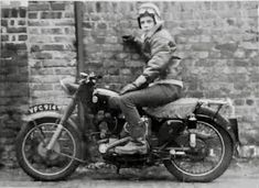 My Ride, Old Pictures, Old School, Biker, Motorcycle, Cafe Racers, Rockers, Vehicles, Classic