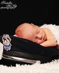 Newborn police officer