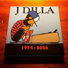 J DILLA!! 10 years ago today since he died but his music and legacy lives on!