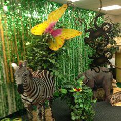 vbs jungle theme decorations -