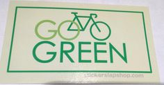 Test products coming in nicely #printing hundreds of different designs soon #product #sticker #startup #business #art #fun #green #gogreen #madeinusa #bike #bicycle #brand #stickerslap #love