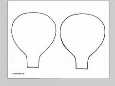 Télécharger un PDF du modèle des contours ballon air chaud (deux sur une page).