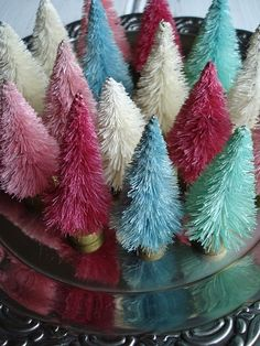 DIY- Bottlebrush trees~ fun