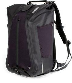Black Ortlieb Vario QL3 Backpack Single Pannier