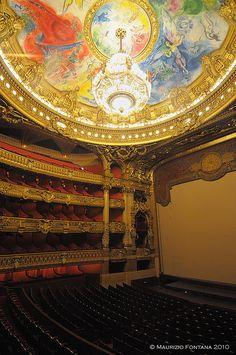 LOperà theatre  Paris