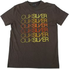 Quiksilver Mens Quiksilver Smooth Operator Tee Bark Quiksilver Smooth Operator Short Sleeved Tee. Large Screen Printed Retro Repeat design with the Quiksilver Logo incorporated into it. This Tee will definitely help you stand out from the crowd. http://www.comparestoreprices.co.uk/t-shirts/quiksilver-mens-quiksilver-smooth-operator-tee-bark.asp