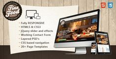 Deals Fine Food - Restaurant Responsive HTML5 Themeyou will get best price offer lowest prices or diccount coupone