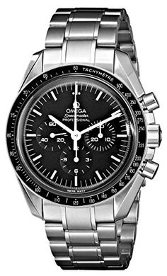 Omega Mens 35705000 Speedmaster Professional Watch with Stainless Steel Bracelet ** Check out this great product.