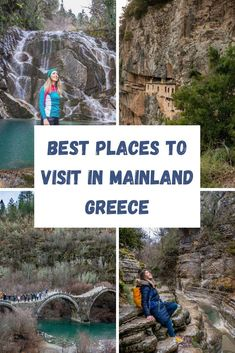 Heading to Greece for an amazing holiday, but want to avoid crowds, while enjoying beautiful beaches, a wealth of archaeological sites, culture and food, here is the list of best places to visit in mainland Greece which offer plenty of options for a Mediterranean break. European Vacation, European Destination, European Travel, Euro Travel, Europe Travel Guide, Travel Guides, Travel Abroad, Travel Advice, Cool Places To Visit
