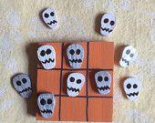 Halloween Skull Tic Tac Toe