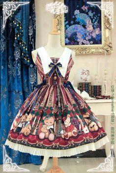 Pink Up -Royal College Bear- Lolita Jumper Dress