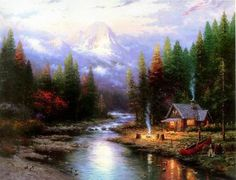 landscape paintings by famous artists | China oil painting reproductions of famous paintings and artists works ...
