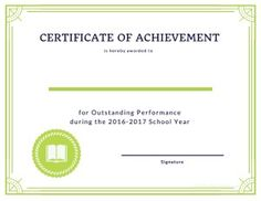 2016 2017 homeschool award certificates