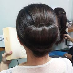 HAIRSTYLE 5 by Aimee G.| LOW CHIGNON  #TeamBENTE @mumphilippines #MUMworkshop #Hairstyling #MakeupByAimeeG #updo #hairstyle #hair #hairstylist #bridal #chignon by makeupbyaimeeg