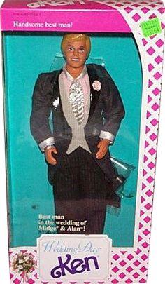 *1990 Wedding day Ken doll 2 #9609