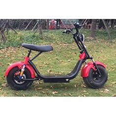 Zweisitzer Harley Elektro Roller 1000w 60v Akku Strassenzulassung Batterie Coco City
