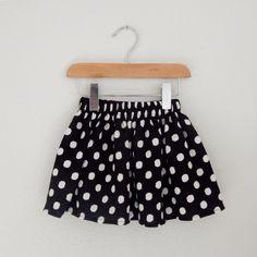 Polka dot Swing Skirt