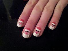 Christmas nails. Kerst nagels.