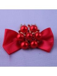 Red Bowknot and Alloy with Rhinestone Wedding Combs Modern Fashion, Unique Fashion, Rhinestone Wedding, Headpiece Wedding, Wedding Accessories, Dress Collection, Women Wear, Bows, Stylish