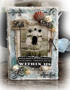 Life Keepsake/Memory Box *SCRAPMATTS* **SCRAPS OF DARKNESS** - Scrapbook.com