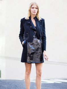 Wearable ways to pull off this statement fabric. via @WhoWhatWear