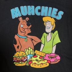 Tops - Scooby-Doo Munchies TshirtYou can find Scooby doo and more on our website. Scooby Doo Images, Scooby Doo Quotes, Scooby Doo Tattoo, Shaggy Scooby Doo, Scooby Doo Mystery Incorporated, Bff, Scooby Snacks, Retro Cartoons, Cartoon Background