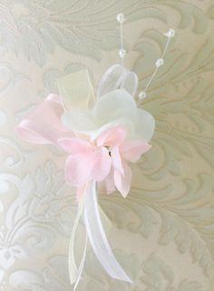Hochzeitsanstecker Hortensie ss54
