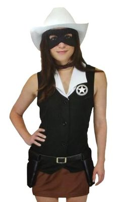 The Lone Ranger Female Lone Ranger Costume