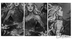 An Enchantment of Ravens by Charlie Bowater A Court Of Wings And Ruin, A Court Of Mist And Fury, Character Inspiration, Character Art, Character Design, Charlie Bowater, Sarah J Maas Books, Throne Of Glass Series, Art Inspo