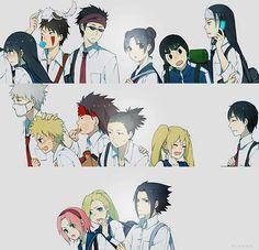 School's life. Kakashi sensei is a Yankee!