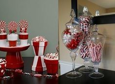 candy cane table decorations | Christmas Table Decorations Ideas for 2013