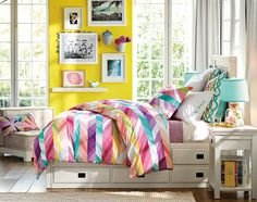 Decoração de quartos de meninas e moças