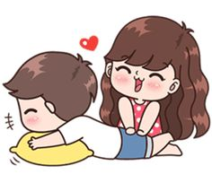 Mini-Omelett-Muffins - New Ideas - New Ideas Cute Chibi Couple, Love Cartoon Couple, Cute Couple Comics, Cute Couple Art, Cute Love Cartoons, Anime Love Couple, Cute Couples, Cute Love Pictures, Cute Cartoon Pictures