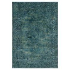 Safavieh Adalene Vintage Inspired Rug - Turquoise / Multi (8'X11')