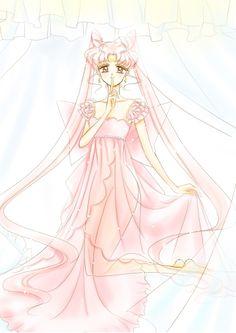 Princess Lady Serenity Artwork by Naoko Takeuchi for Sailor Moon