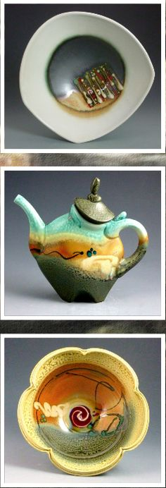 Amazing Porcelain Pottery Artist Loren Lukens Shares his Vision with A Distinctive Style.