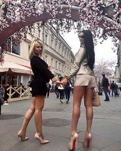 Only Beautiful Legs! Beautiful Heels, Lovely Legs, Great Legs, Beautiful Women, Sexy Legs And Heels, Hot Heels, Pernas Sexy, Micro Skirt, Mini Bikini