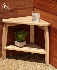 Add the Terrel Teak Outdoor Corner Table to your patio for an additional plant or refreshment space. Made of weather-resistant wood, this table is designed to complement a wide range of furniture styles.