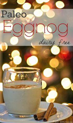 paleo eggnog