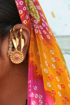 India | Jewellery Details From Rajasthan | © Rudi Roels