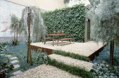 patio. like the idea of it raised with the step going down. . .