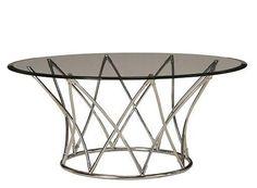 Upton Glass Coffee Table