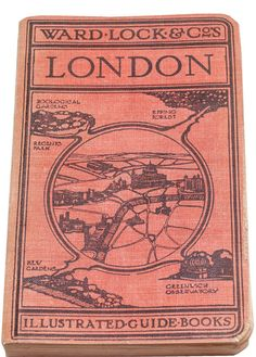 Ward Lock guide to London 54th edition with by CollectableMrJones